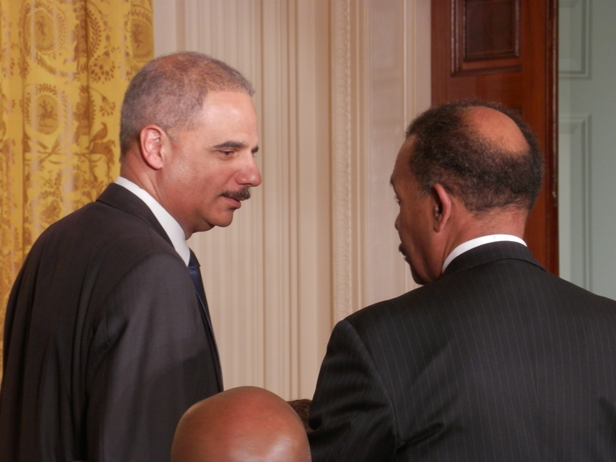 Eric-Holder-and-Joe-Madison (1)